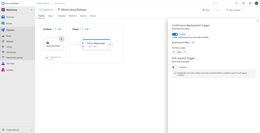 Build & Release Unity Games with Azure DevOps   AlexKnowles Info